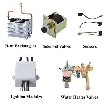 spare part water heater gas